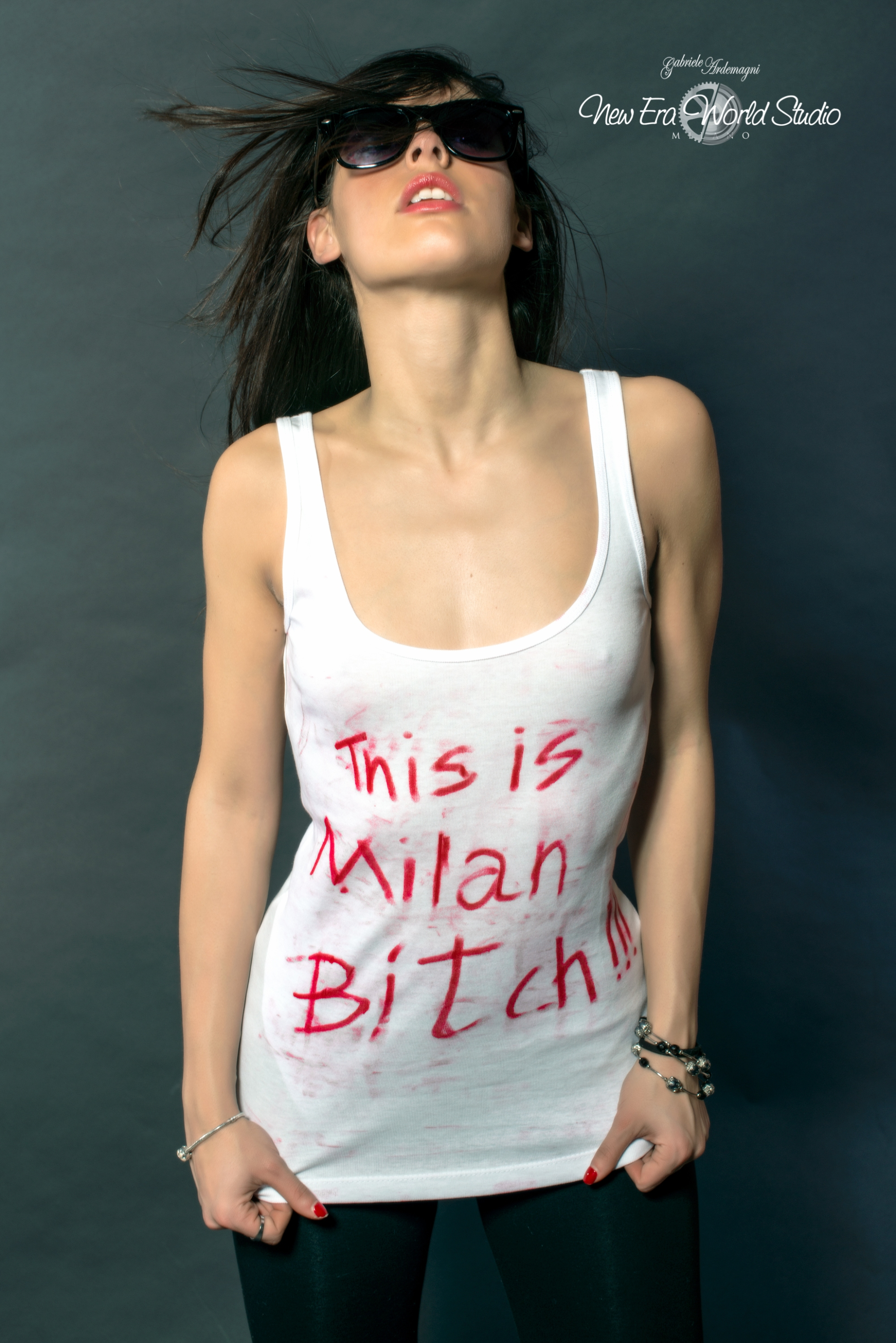This is Milan Bitch !!! Asia Valente Foto by Gabriele Ardemagni